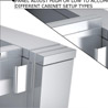 stainless steel base cabinets