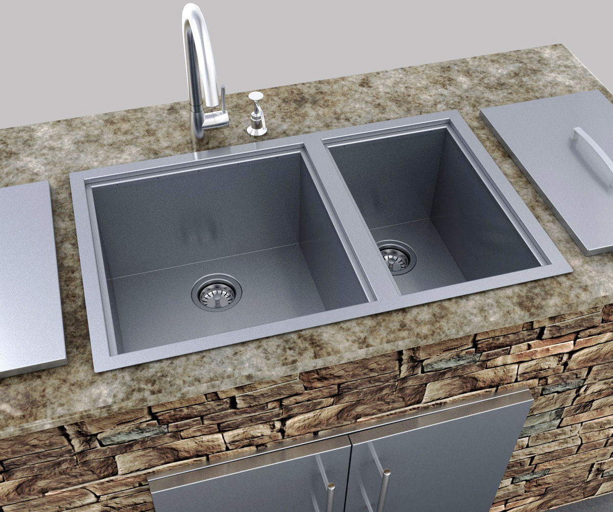 Utility Sink With Cover : Over/Under 34