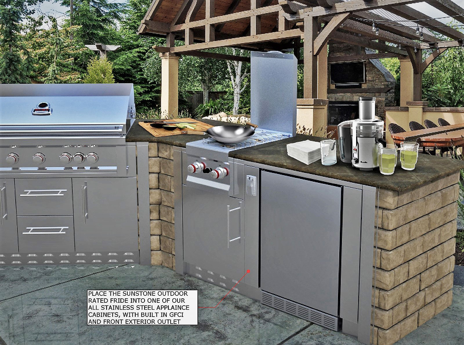 OUTDOOR RATED REFRIGERATOR Sunstonemetalproducts.com