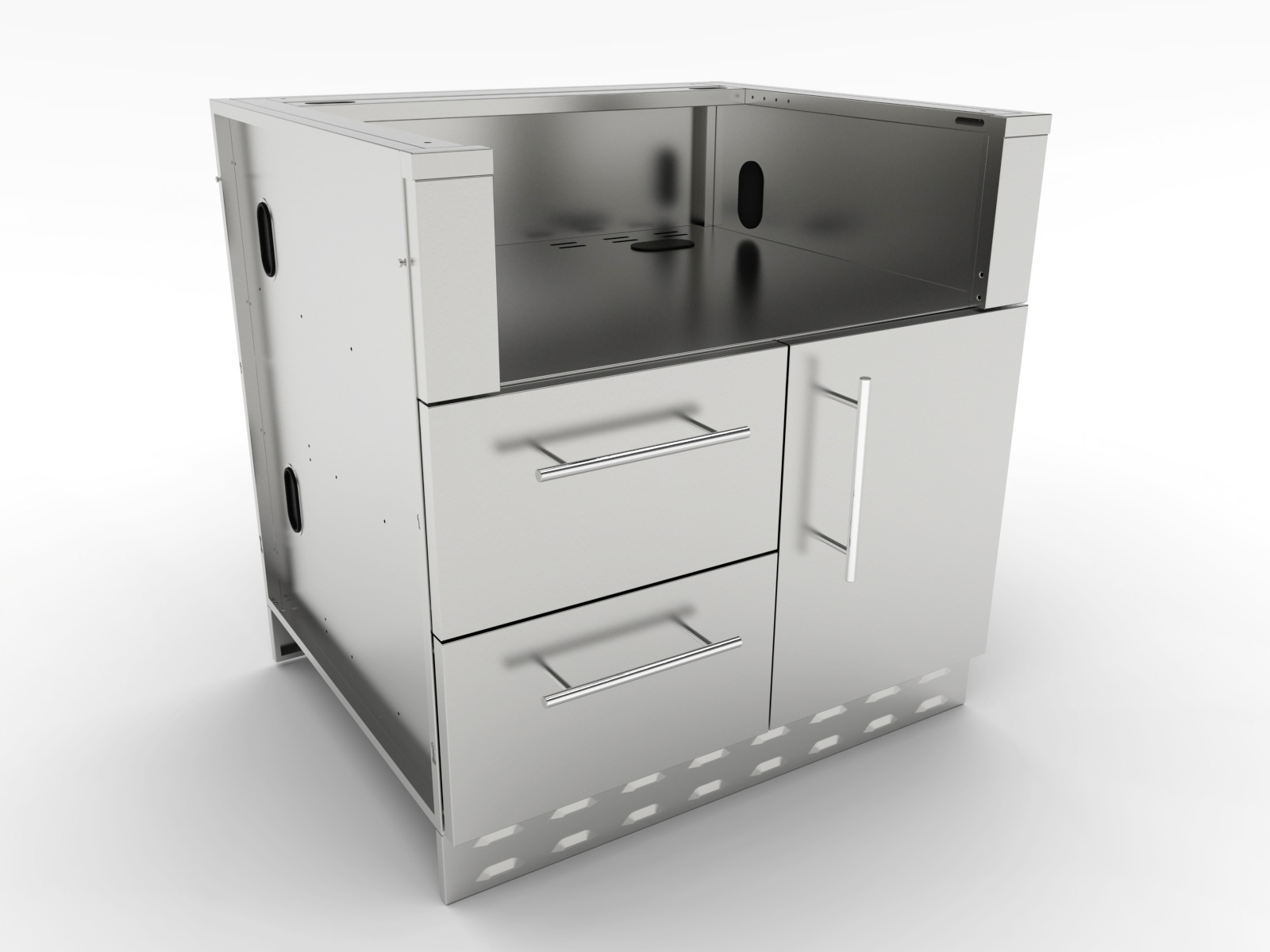 Superieur Grill Cabinets