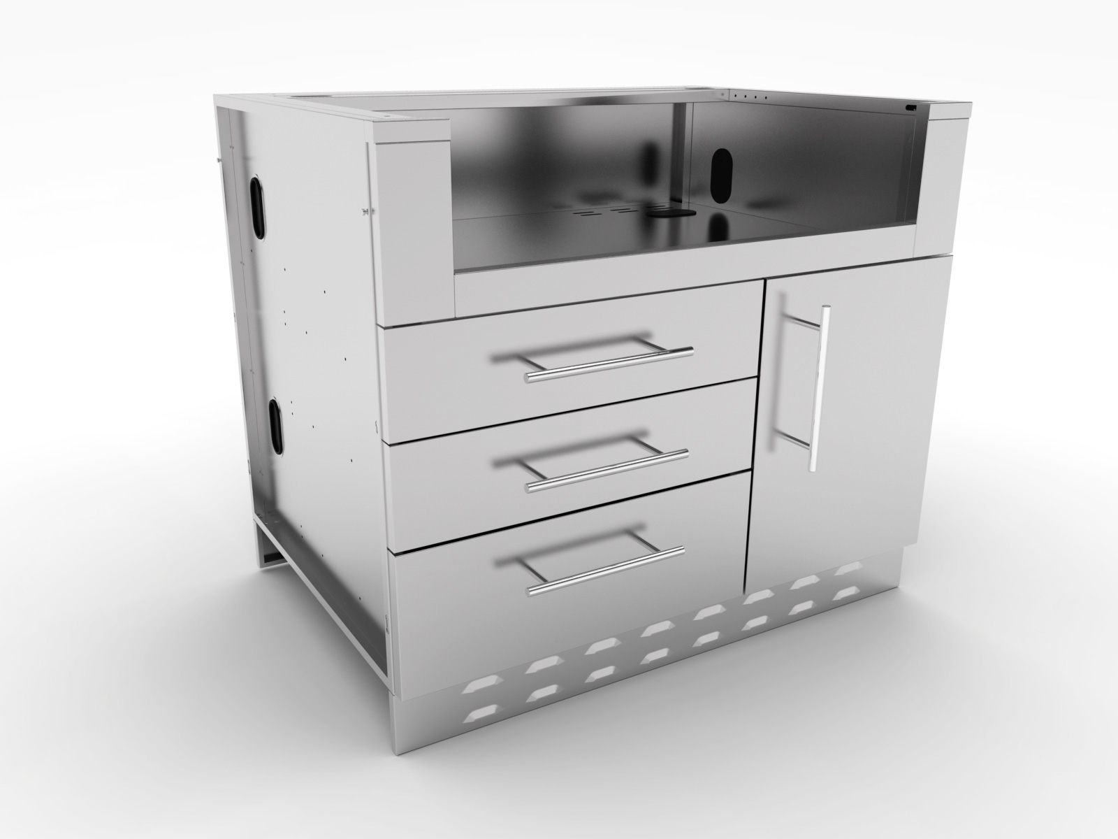 Stainless steel Cabinets- Appliance Cabinets ...