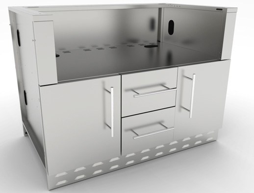 grill cabinets