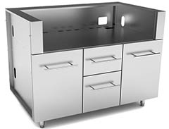 gas grill cabinets
