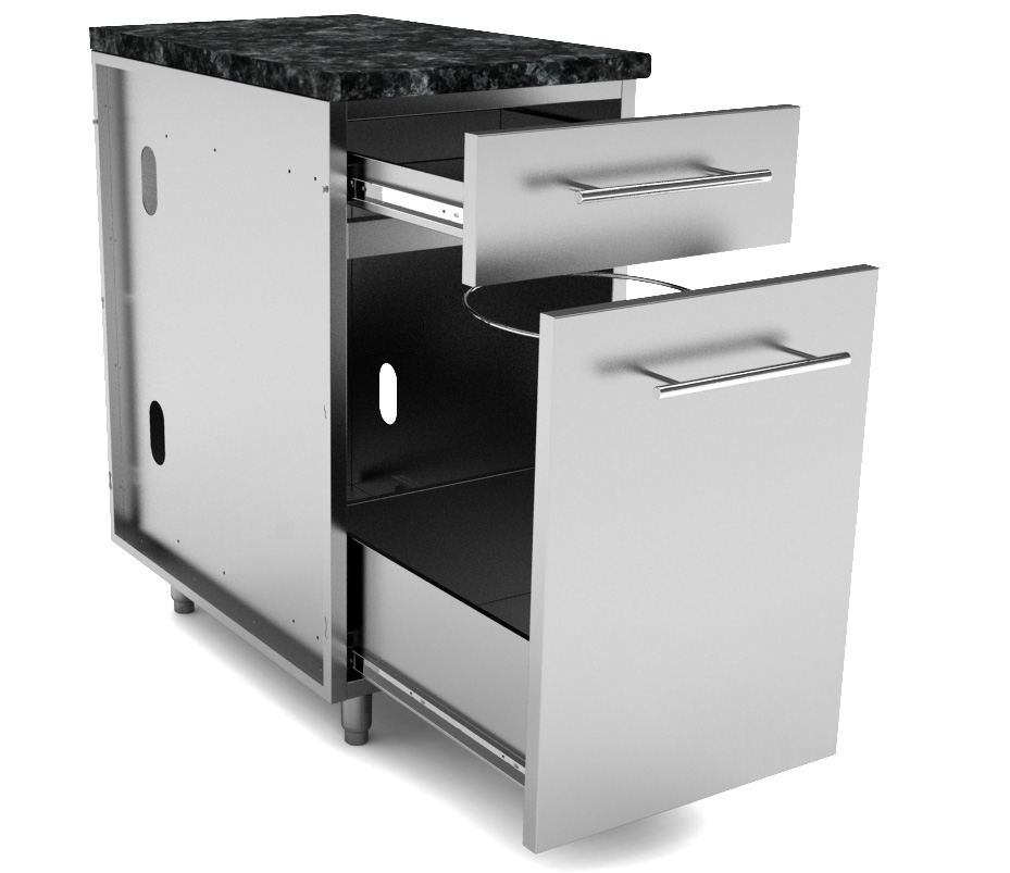 Stainless Steel Kitchen Base Cabinets: Stainless Steel Cabinets-Base Cabinets