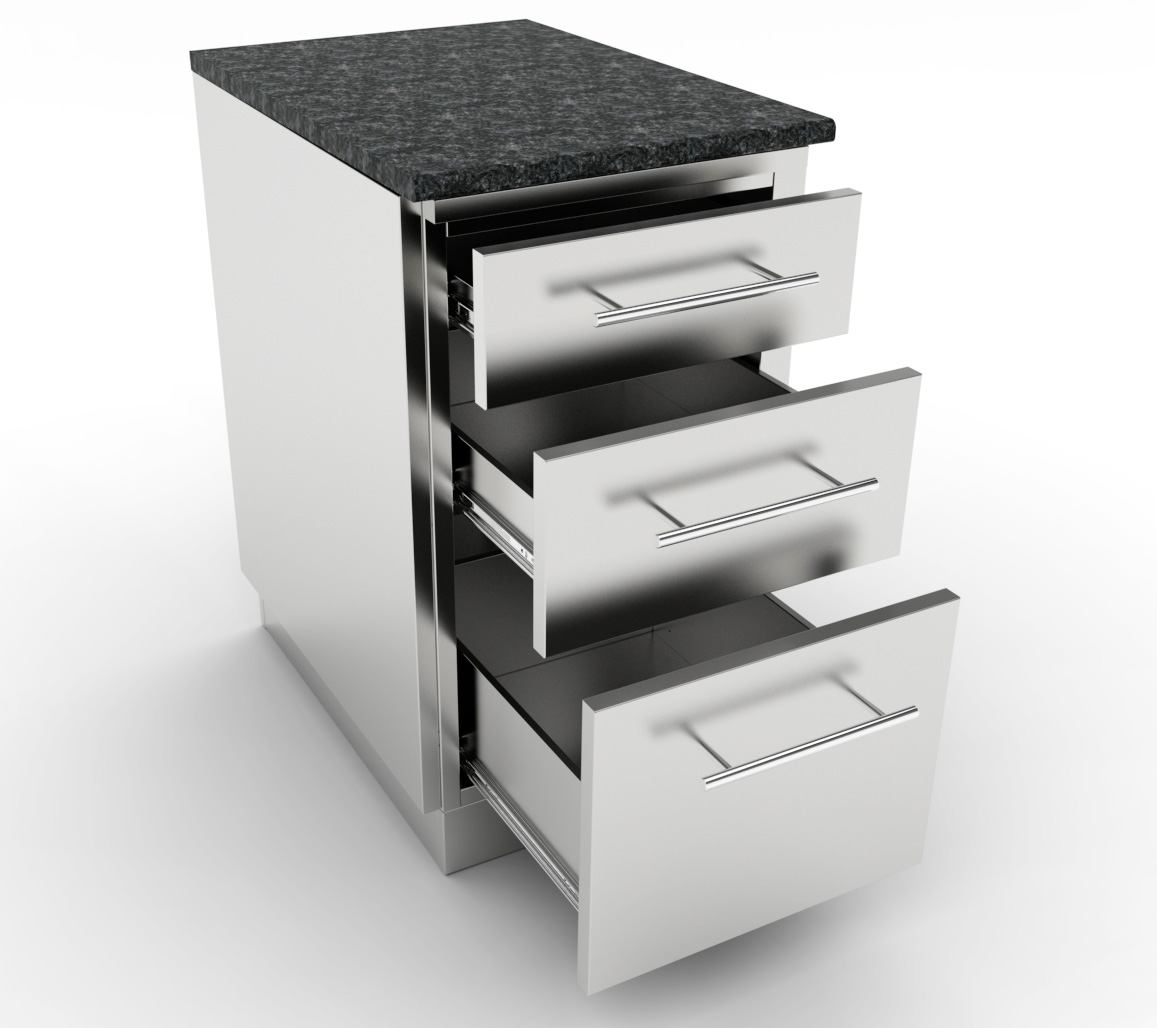Stainless Steel Liance Cabinets