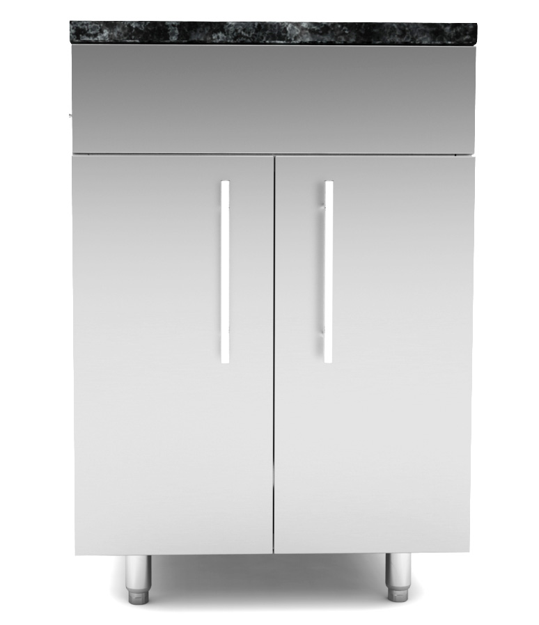 Delicieux Stainless Steel Base Cabinets