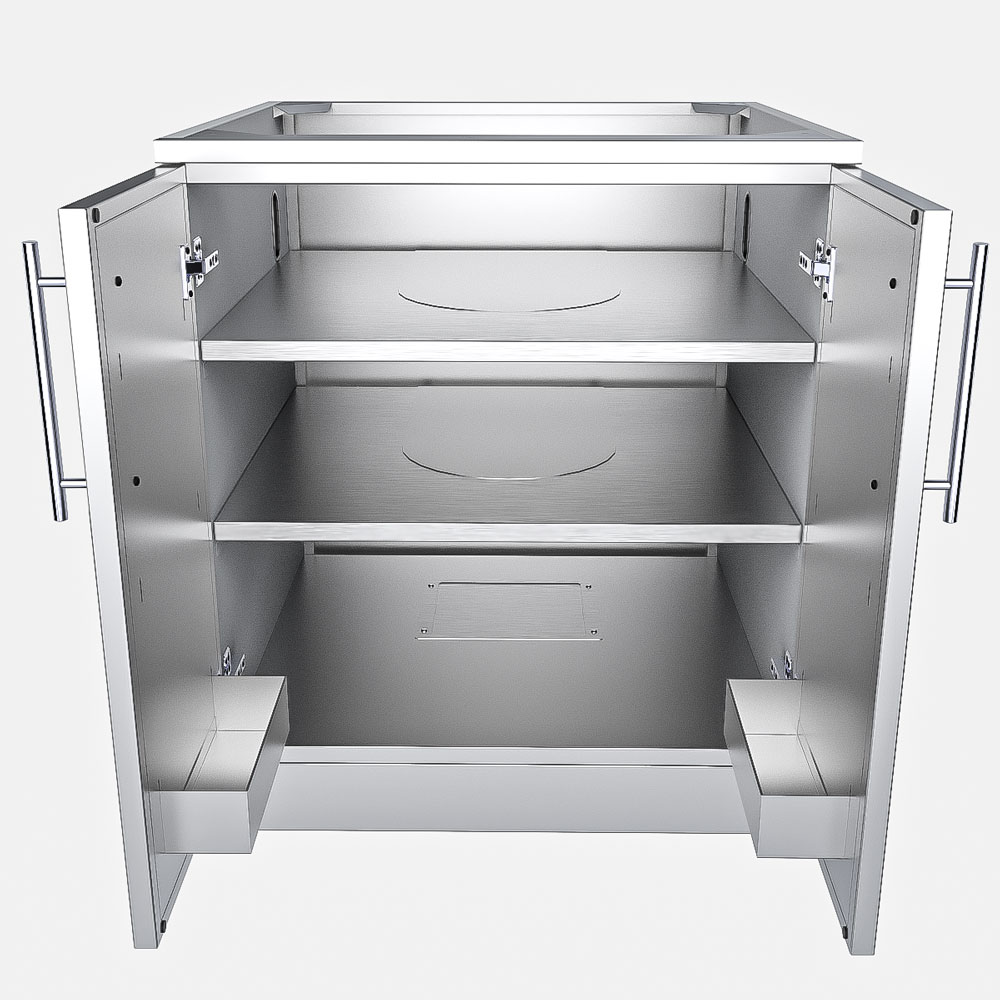... Stainless Steel DOOR Cabinets