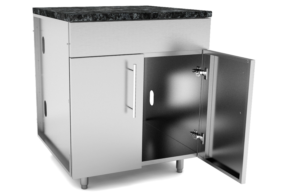 Stainless Steel Cabinets Base Cabinets