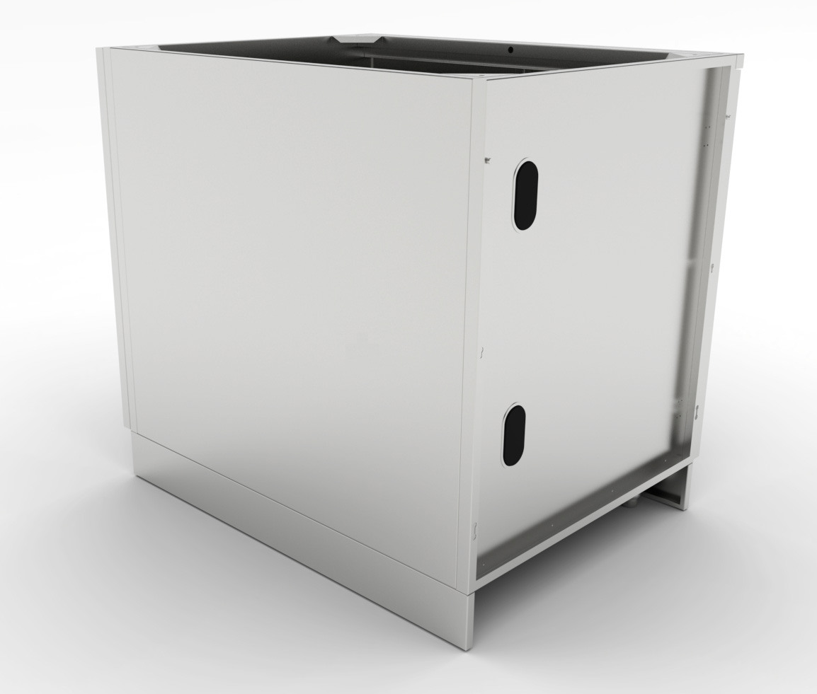 Stainless steel cabinets door cabinets for Custom stainless steel cabinet doors