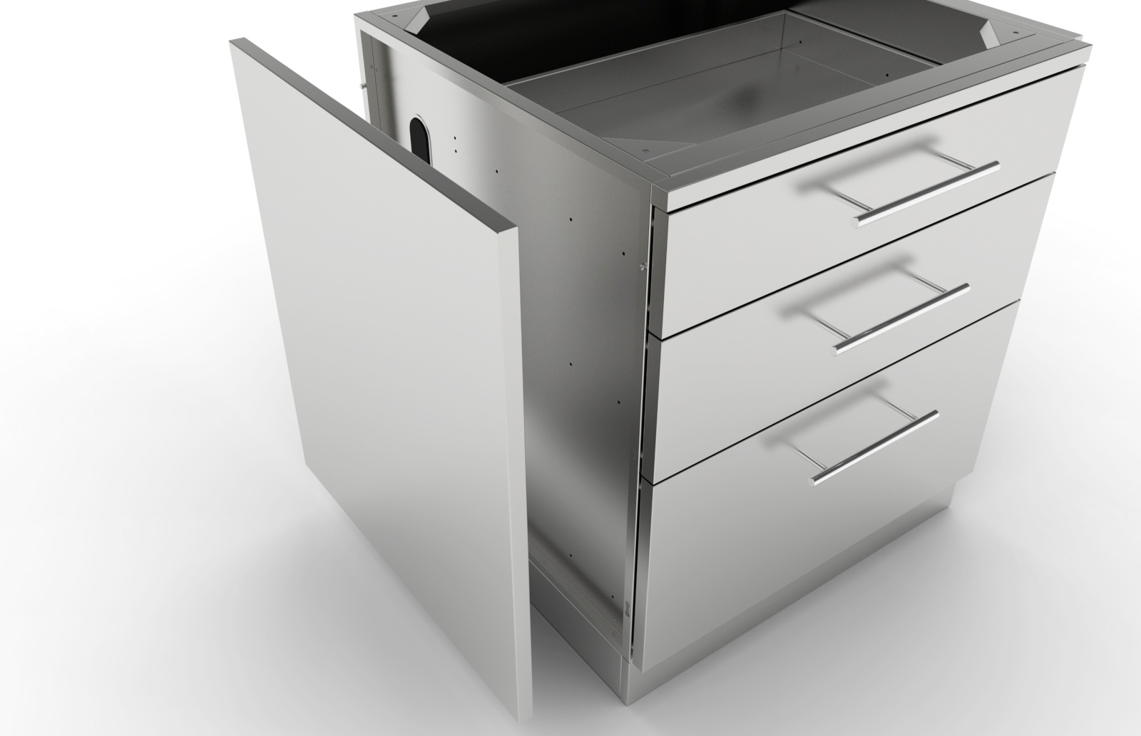 Lovely Stainless Steel Base Cabinets, Stainless Steel Base Cabinets ...