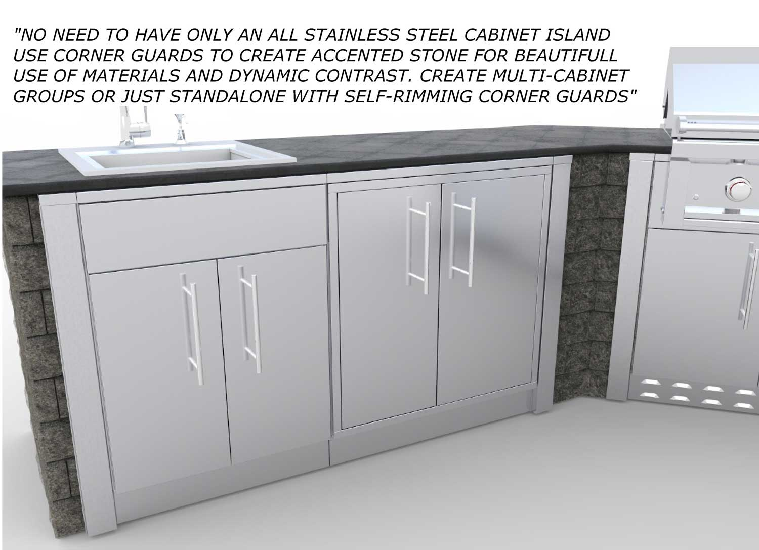 Stainless Steel Base Cabinets ...