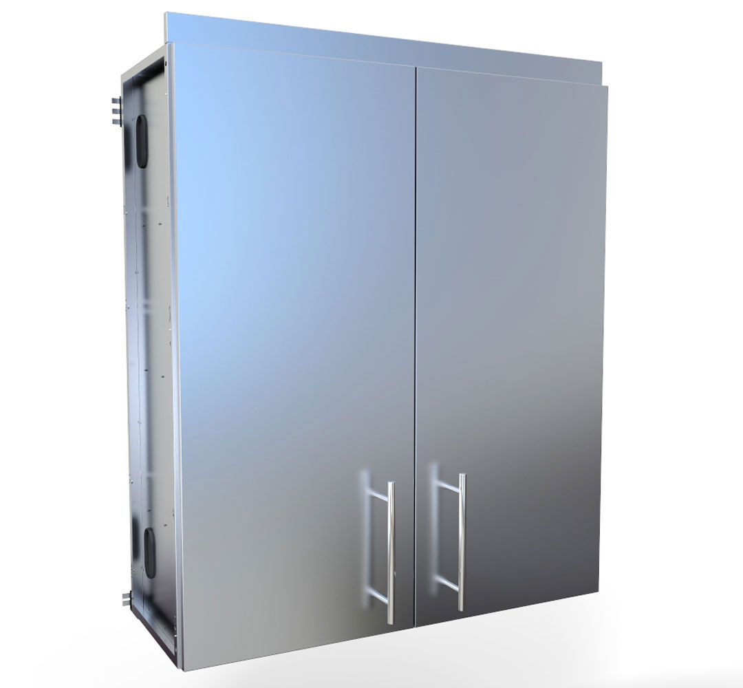 Stainless steel Cabinets-Wall Cabinets: sunstonemetalproducts.com
