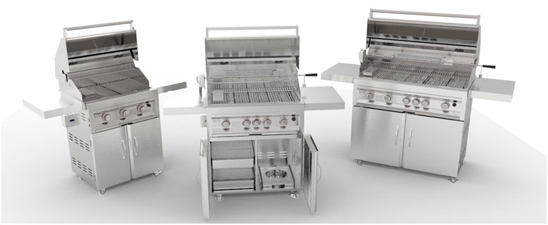 Bbq gas grill carts sunstonemetalproducts